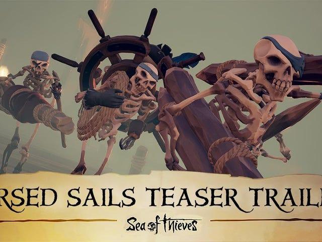 """Sea of Thieves """"Cursed Sails"""" uppdatering kommer fram den 31 juli"""