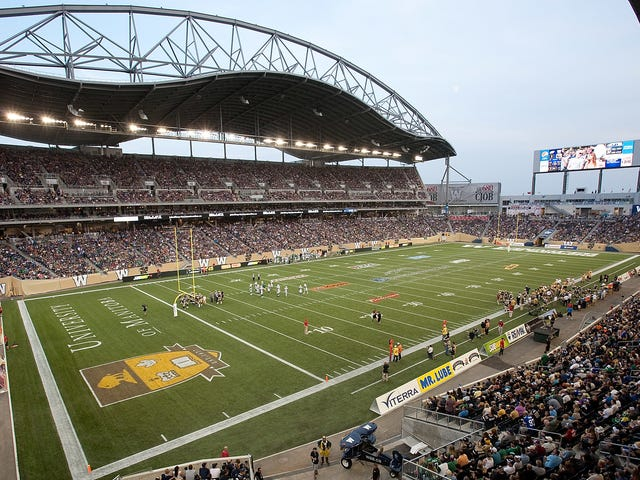 Manitoba Admits It Got Conned, Gives Up On Winnipeg's CFL Stadium Ever Actually Paying For Itself