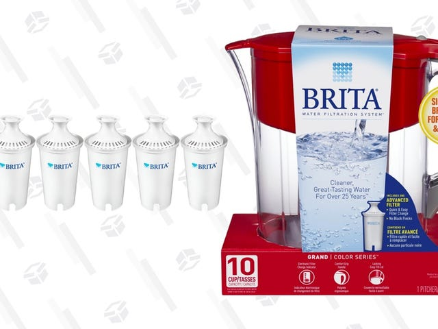Save A Couple Bucks On A Brita Pitcher and Filters