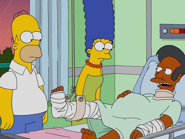 행크 아자리아는 심슨 가족에게 더 이상 Apu의 목소리를 내지 않을 것입니다