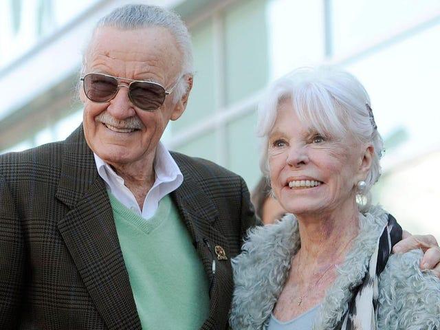 'Marvel muse' Joan Lee dies, aged 93