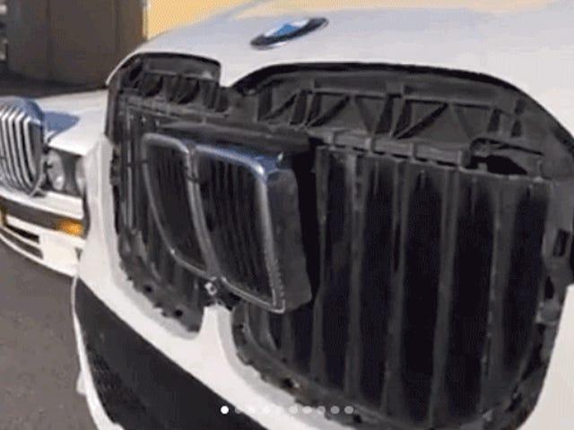 Ας δούμε πόσο θαυμάσια είναι η εξαιρετική 2019 BMW X7 Grille που ταιριάζει σε ένα παλιό E30