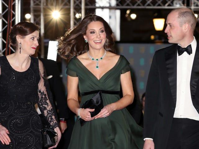 Kate Middleton Probably Shoulda Sat Out the BAFTAs