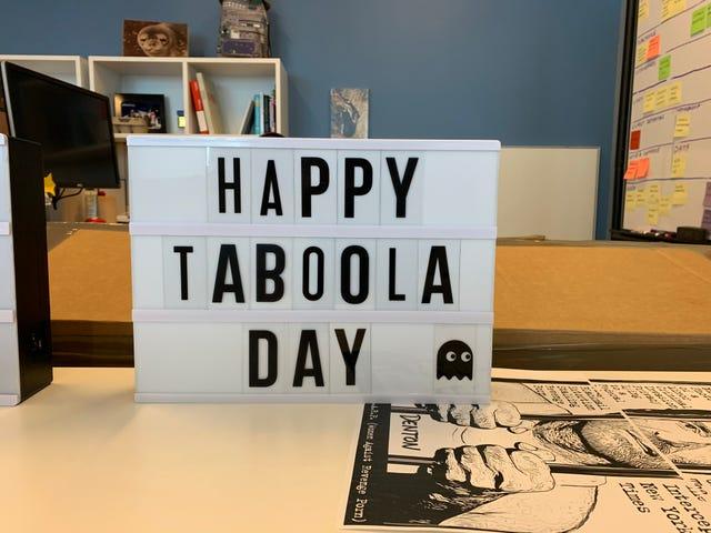 Happy Taboola Day