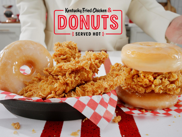 Grease is the word: KFC's chicken and doughnuts are now available nationwide