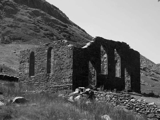 The lost world of Cwmorthin