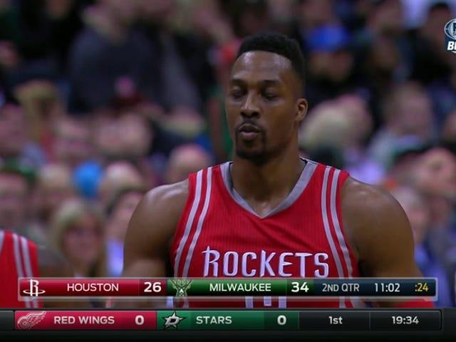 Gus Johnson, Dwight Howard'ın Milwaukee'de Neredeyse Bittiğini söylediğini söyledi