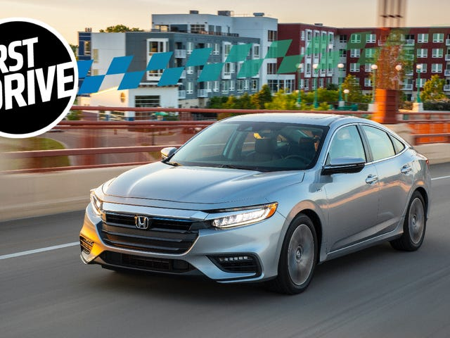 The 2019 Honda Insight Is The Most Normal Hybrid