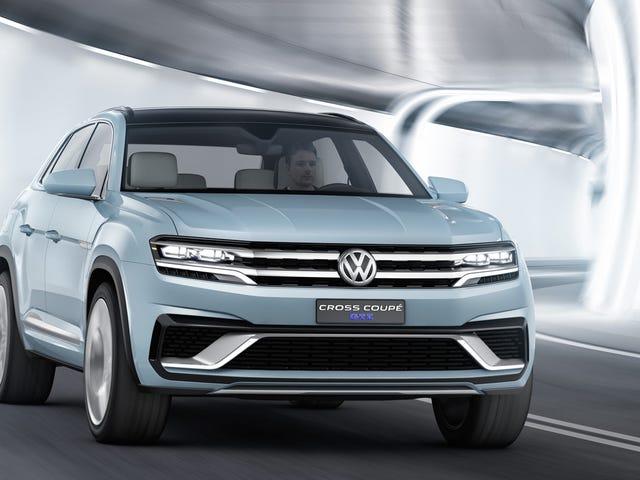 Το VW Cross Coupe GTE Concept θα κατακτήσει την παρτίδα Mall