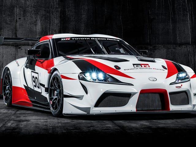 At Toyota GR Supra Racing Concept tilsynelatende koster $ 2 millioner å bygge
