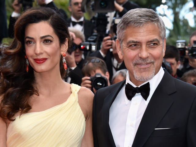 Amal Clooney Gave Birth to 2017's Second-Most Anticipated Twins