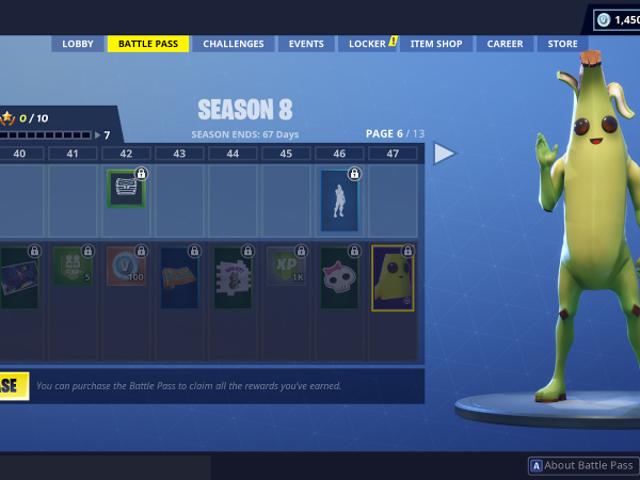 Algo nej va bien en el nuevo skin con forma de plátano humano de <i>Fortnite</i>