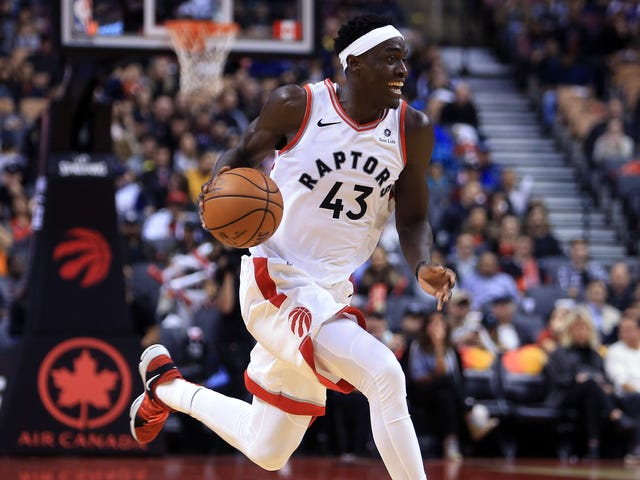 Pascal Siakam Is Fun For The Whole Family