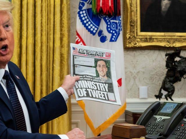 Perintah Eksekutif Trump di Media Sosial Adalah Jenis Bullshit Terburuk