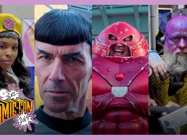 Không có khuôn mặt nào của San Diego Comic-Con