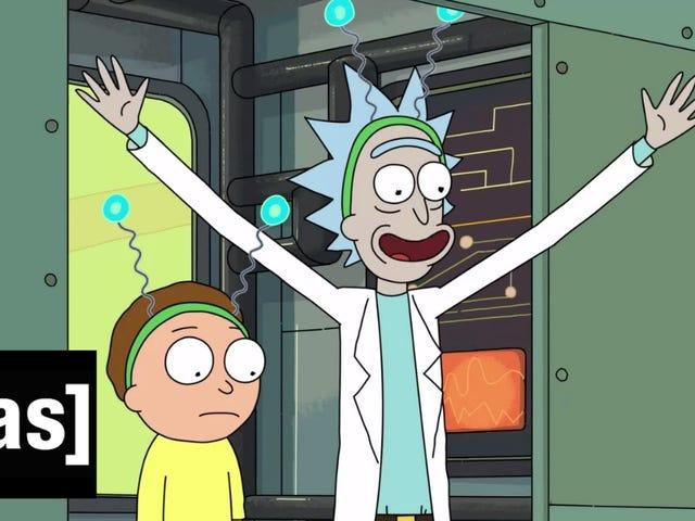 <i>Rick and Morty</i> Season 2 Trailer là Gross và Weird (và tuyệt vời)