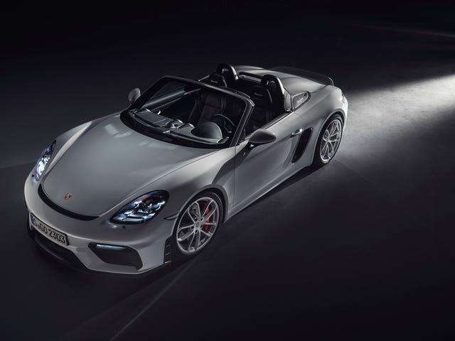 O 2020 Porsche Boxster Spyder e o Cayman GT4 finalmente trazem de volta o poder do Flat-Six