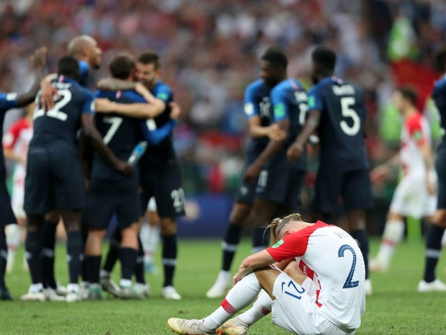 France Topple Croatia In Hectic, Exhausting World Cup Final