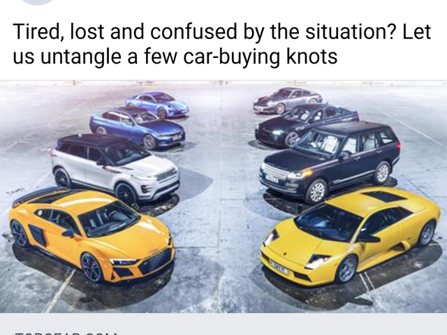 Top Gear's Moron's Guide to Buying a Car