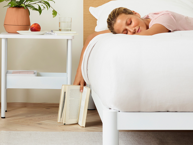 Casper Made a Platform Bed and a Nightstand, Because of Course