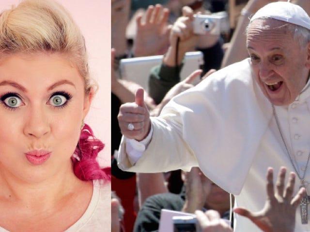Paavi kaivaa kauneutta Vlogs