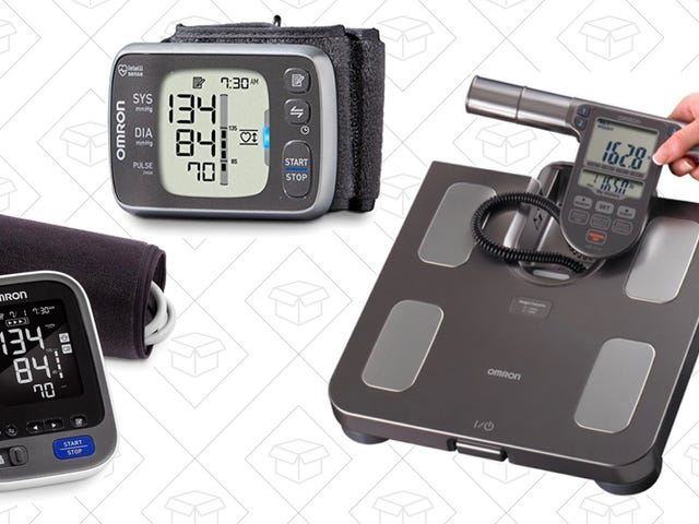 Track Your Progress With These Discounted Scales and Blood Pressures Monitors