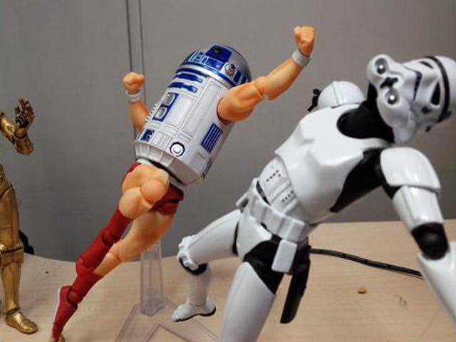 R2-D2 Gets Seriously Badass