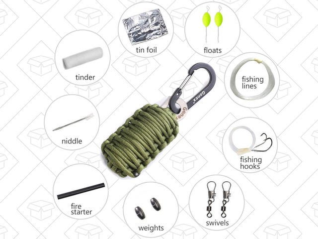 This $4 Survival Grenade Includes a Fire Starter, Fishing Gear, and More