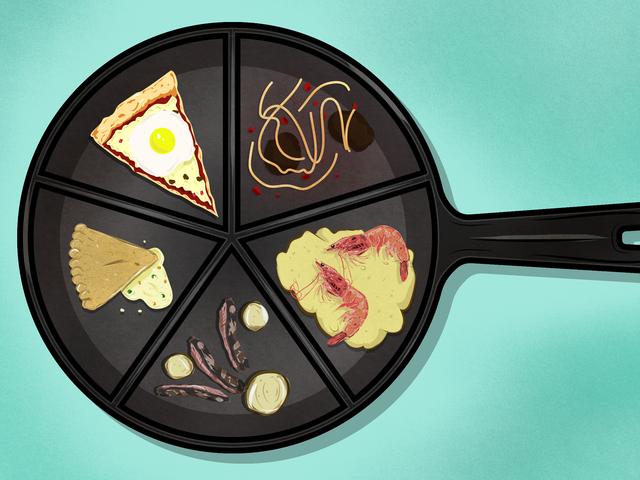Viisi yllättävää ateriaa, joita et tuntenut, voisit tehdä yhdellä panilla