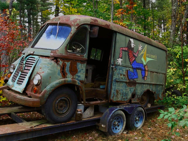 American Pickers Found Aerosmith's Original International Metro Tour Van and It's Extremely Cool