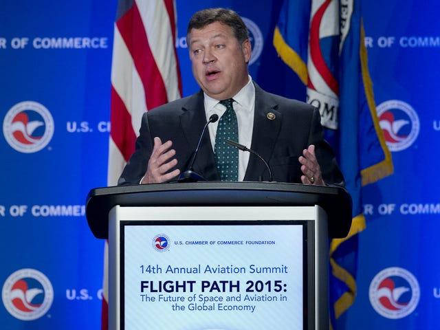 "PA-republikanen sover med flygbolagets lobbyist, skyller på ""liberala medier"""