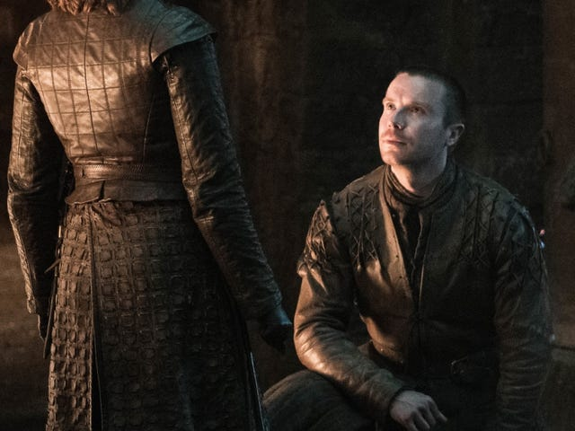 Même Gendry pense que la proposition de mariage <i>Game of Thrones</i> était idiote