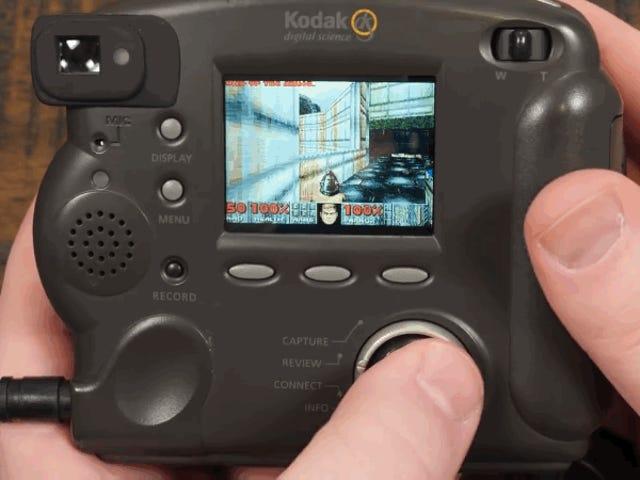 Klarer at installere Doom på et Kodak digitalt kamera fra 1998, og det fungerer