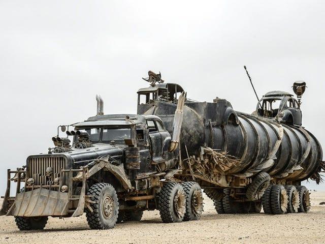 Rewatching Fury Road, I realized that Furiosa's War Rig is a Tatra