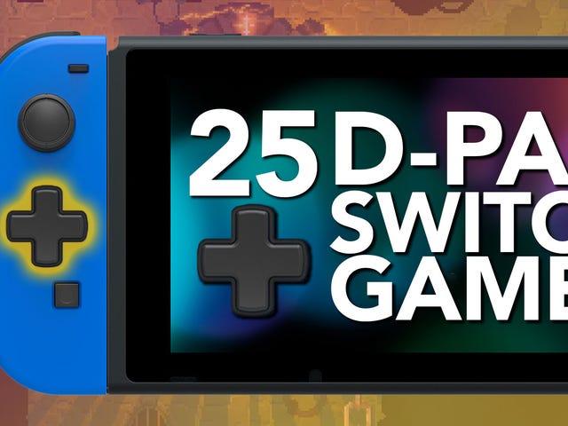 D-Pad로 게임을 즐기는 25 가지 즐겨 찾는 스위치 게임