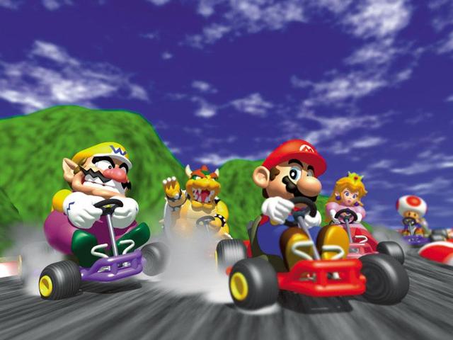 การแข่งขันเพื่อหยุดผู้เล่น <i>Mario Kart 64</i> ดีที่สุดจากการบันทึกสถิติโลกทุกครั้ง <em></em>