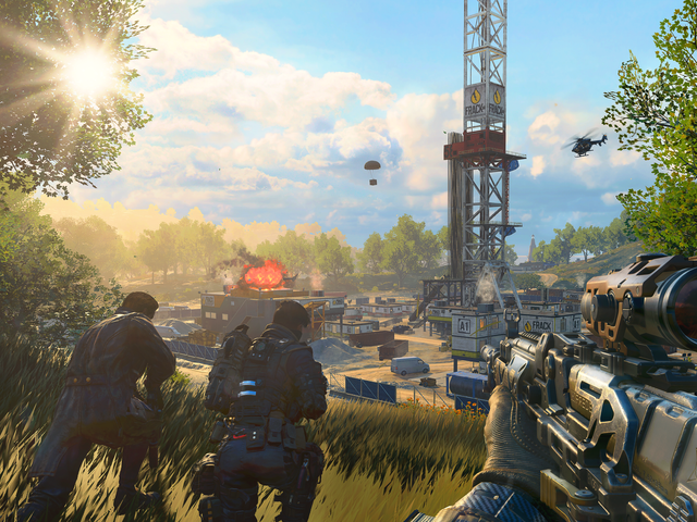 Call Of Duty's Blackout Mode Keeps Getting Better