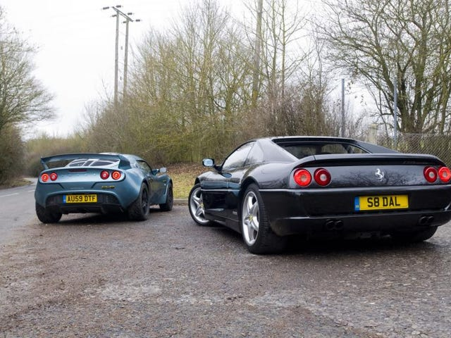 Ferrari atau Lotus?  The Dumb Facebook Edition