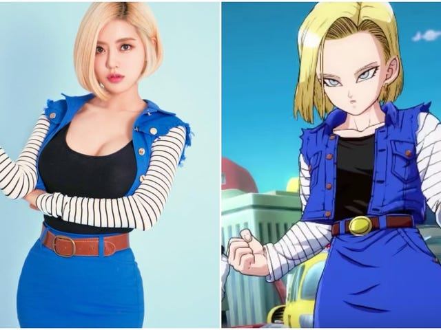 DJ Does An Excellent Cosplay Of Dragon Ball's Android 18