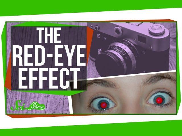 Miksi silmäsi näyttävät punaisina valokuvissa ja miten estetään se