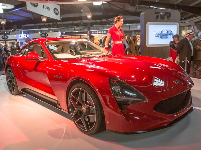 The New TVR Griffith Is Delayed Yet Again: Report