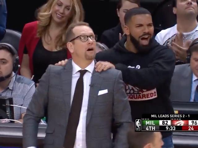 Weniger Leben: NBA fordert Drake auf, die Bremsen mit den Nebenerlebnissen zu betätigen