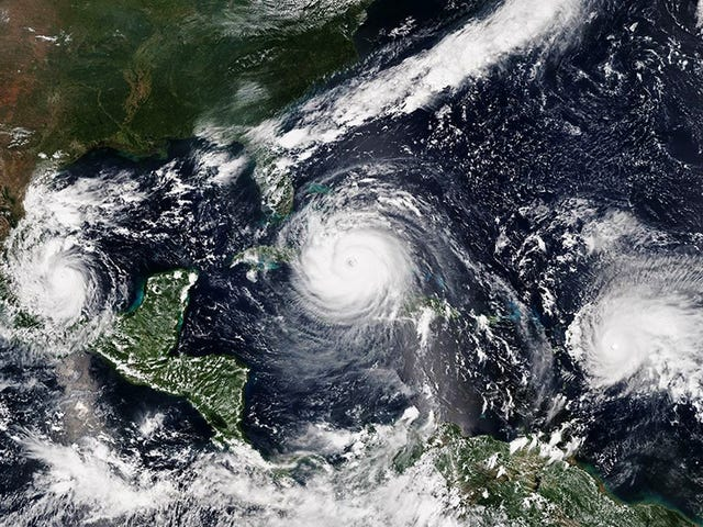 Climate Change Worsened 2017's Hurricane Season From Hell, Study Finds
