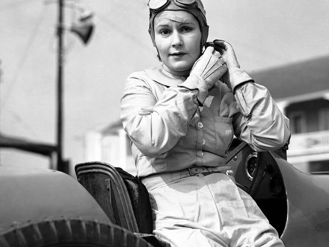 A queridinha de Brooklands foi a primeira piloto feminina que quase marcou uma temporada de Grand Prix