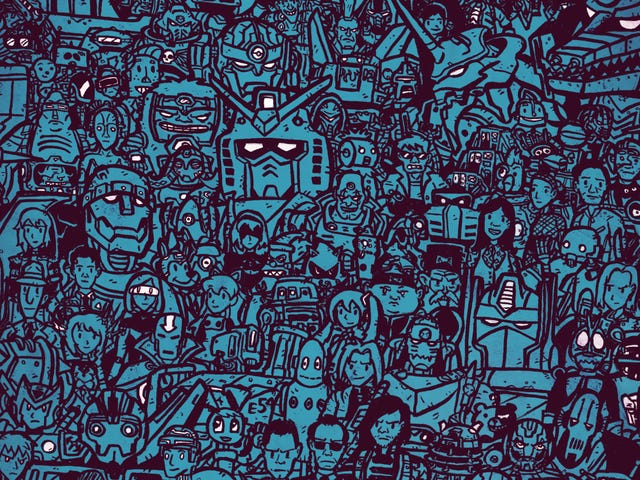 How Many Robots Can You Spot in This Awesome Poster?