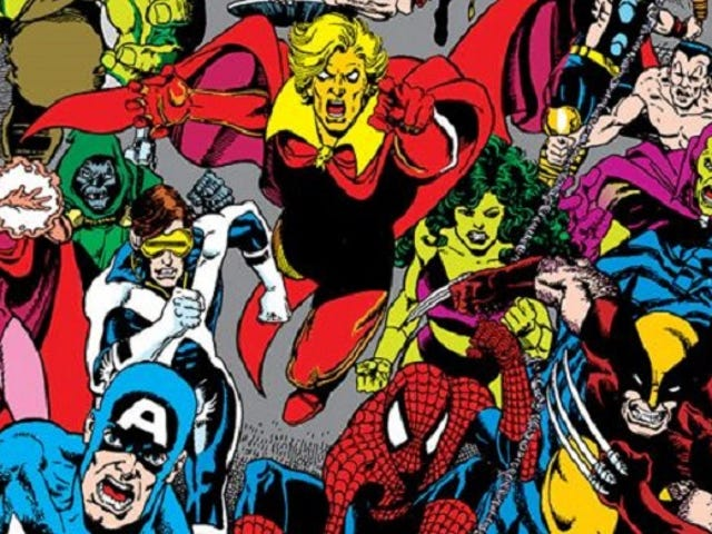 A History of Marvel Crossovers: The Dark Age