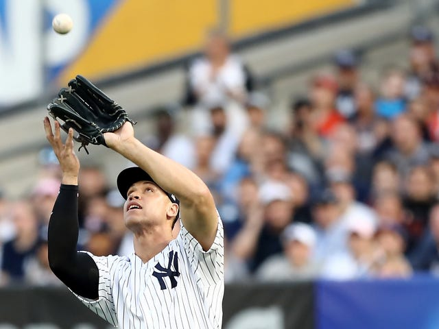 Aaron Judge Can Sure Throw The Hell Out Of A Baseball