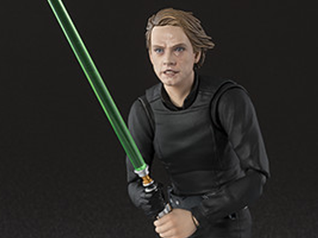 Bandai's Figuarts Jedi Luke Lets You Pose Him Just Like The <i>ROTJ</i> Poster
