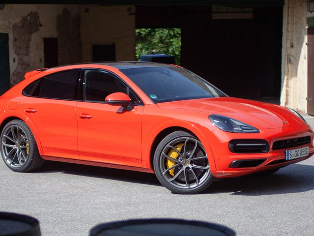 Here's What the Cayenne Coupe Would Look Like If It Wasn't Such a Big SUV