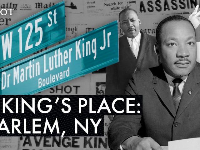 Trouver Martin Luther King Jr. dans les rues d'Amérique